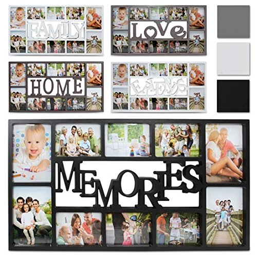 Jago portafoto cornice per foto multiple friends colore bianco for Cornici foto multiple