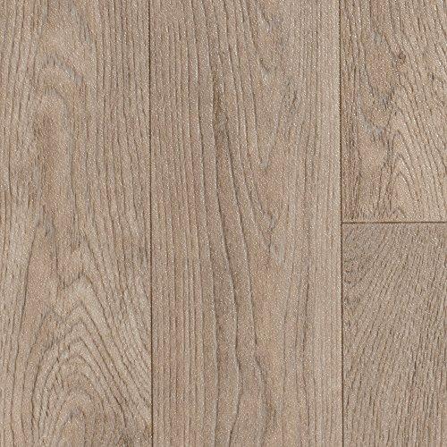 PVC CV Vinyl Bodenbelag Auslegware Holzoptik Schiffsboden Eiche 200, 300 und 400 cm breit, verschiedene Längen, Variante: Muster