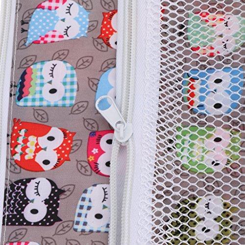 Baby Wiederverwendbare Nass und Trocken Windel Beutel Organisator Beutel Printing Wickeltasche - Farbe3 Farbe9