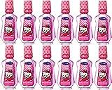 x12 Hello Kitty Dental Care Mouthwash Strawberry Flavour 237ml