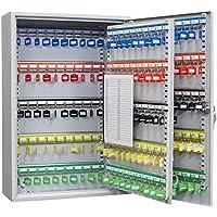 Arregui PL200 - Armario de Seguridad para 200 Llaves con Ganchos Regulables, 550x380x140, Gris