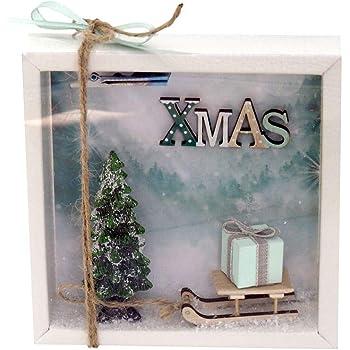 Zauberdeko Geldgeschenk Verpackung Weihnachten Gutschein Schlitten