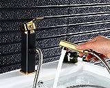 Daadi Küche bad waschbecken wasserhahn Kupfer schwarze Patina Wasserhahn warmes und kaltes Einloch Teleskop