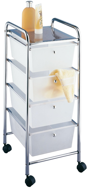 Wenko 16611100 desserte salle de bain 3 tiroirs messina: amazon.fr ...