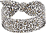 Küstenluder Damen Haarband Alina Leopard Bandana Mehrfarbig 53cm x 53cm