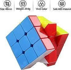 Toykart Super Smooth Stickerless - 3X3X3 Cube