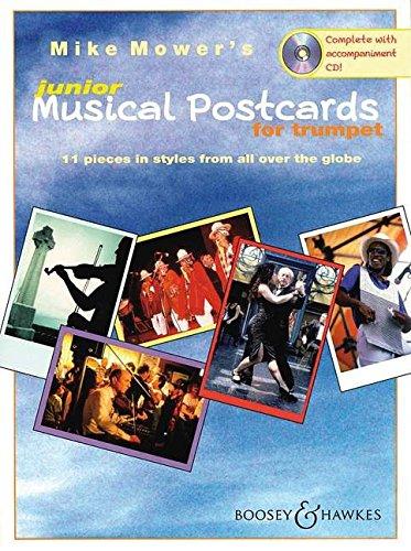 Musical Postcards Junior Trompette +CD par Mike Mower