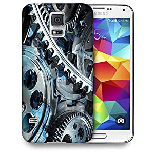 Snoogg Red Filler Printed Protective Phone Back Case Cover For Samsung S5 / S IIIII