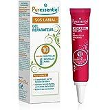 Puressentiel - Soin de la peau - Gel réparateur S.O.S Labial - Aux 10 huiles essentielles - 100% pures et naturelles - Aide à