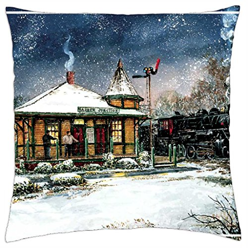 Barber Junction F1 - Throw Pillow Cover Case (18\