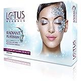Lotus Herbals Radiant Platinum Cellular Anti-Ageing Facial Kit, 148g