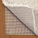 RHF Antirutschmatte, Teppichunterlage Antirutsch, Teppichunterleger, Teppich Unterlagen Rutschfest, Teppichstopper, Anti Rutsch Teppichunterlage, Antirutsch-Unterlage, Rutschschutz für Teppiche, Rutschhemmende Teppichunterlage, Zuschneidbar, für Fußbodenheizung Geeignet, 180 × 120 cm