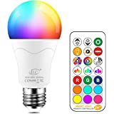 iLC 85W Equivalente Lampadine Colorate Led RGBW Cambiare colore Lampadina E27 Edison RGB LED Lampadine Led a Colori Dimmerabi