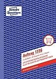 Avery Zweckform 1726 Auftrag (A5, selbstdurchschreibend, 3x40 Blatt) weiß/gelb/rosa