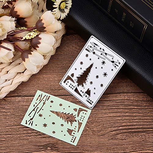 berrose -stanzformen Metall Schablone Template Mold DIY präge für Album Scrapbooking Papier Karte Kunst Handwerk Decor -prägestempel Stencil Scrapbook kartenherstellung Regard