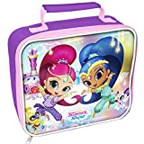 Shimmer And Shine Childrens/Girls Official Rectangle Lunch Bag (One Size) (Purple)