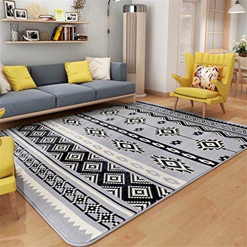 GAIXIA Schlafzimmer Teppich Wohnzimmer Sofa europäischen Stil Tee Tisch Teppich einfach modern Teppich (Size : 130 * 190CM)