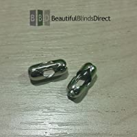 Pack of 8 x Metal Roller Blind Beaded Chain Connector