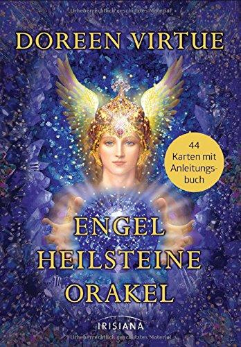Engel-Heilsteine-Orakel: 44 Karten mit Anleitungsbuch