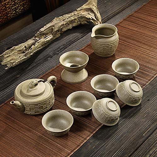 GBCJ Keramikgeschirr-Keramikgeschirrset, Viel Glück und Glück für Sie