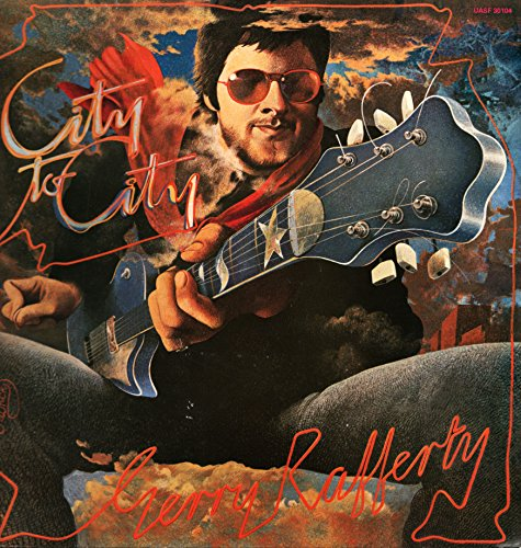 "Gerry Rafferty - City to City (Vinyle, album 33 tours 12"") United Artists Records UASF 30104, 1978 - The Ark - Baker Street - Right down the line - City to City - Stealin' Time - Mattie's Rag - Whatever's written in your Heart - Home and Dry - Island - Waiting fr the Day"