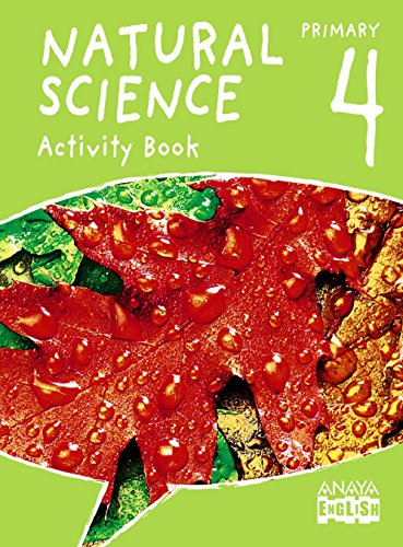 Natural Science 4. Activity Book. (Anaya English) - 9788467879124