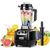aikeec Blender Smoothie Maker Smoothie Blender Mixer Slijper en EIS-hakmachine, 10 snelheden 2L container [energieklasse A++]