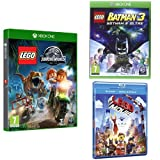 Lego Jurassic World + Lego Batman 3 + The Lego Movie (Blu-ray)
