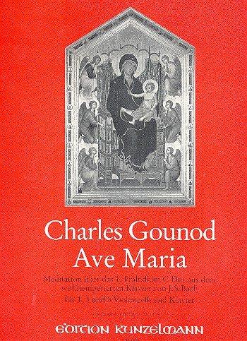 Ave Maria: Meditation über das Präludium Nr.1 für 1, 3 und 5