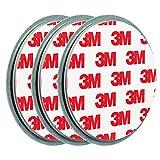 ECENCE 3X Magnetbefestigung/Magnethalter für Rauchmelder Ø 70mm 45020108003