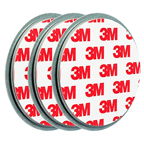 3x ECENCE Magnetbefestigung / Magnethalter für Rauchmelder 45020108003