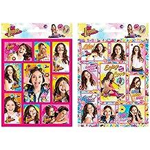 Disney Channel Soy Luna 2 Sheet Stickers Pad Original