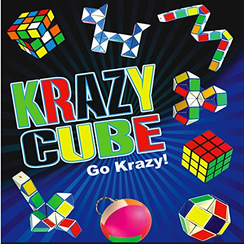 German Trendseller® - 6 x Puzzle Set Spiele Pack ┃ Knobeln ┃ Gedultspiele ┃ Mitgebsel ┃ Kindergeburtstag ┃ 6 Stück Metall-rätsel-würfel