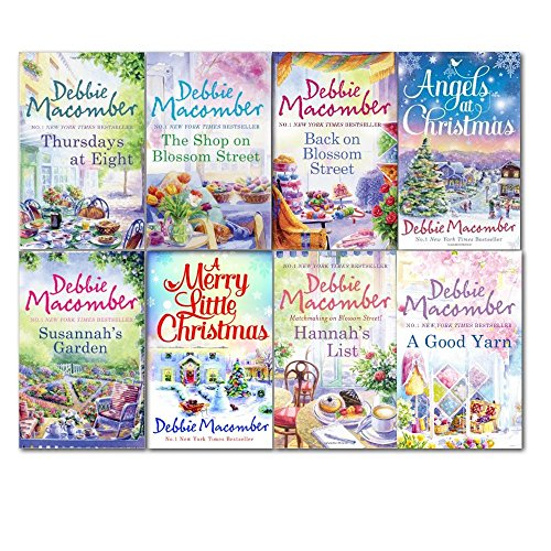 debbie-macomber-collection-8-books-set-angels-at-christmas-a-merry-little-christmas-back-on-blossom-