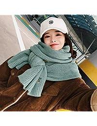 IBUP - Écharpe en Laine Douce brodée Japonaise et coréenne - Écharpe en  Laine Transparente - pour étudiante - pour… 941402c26f0