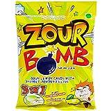 #4: Zour Bomb Sour Lemon Candy - Sherbet Powder Filling, 110g Pack