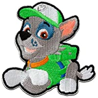 Parches - Paw Patrol PATRULLA CANINA Rocky - verde - 7x6,4cm - © Spin