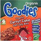Bars Organix plus organique Oaty souple - Carrot Cake 12mth + (6x30g) -