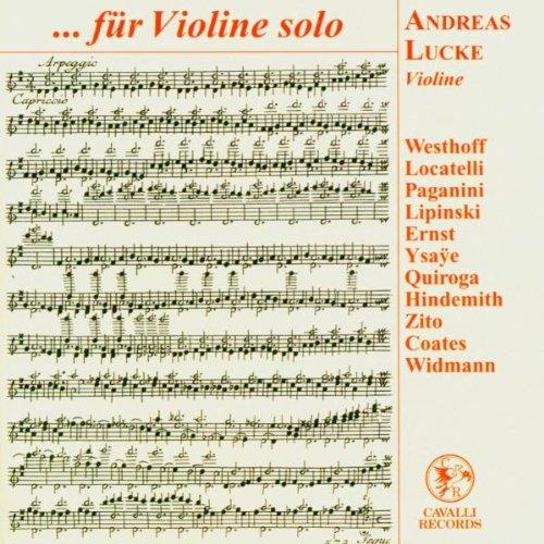 .. . für Violine Solo