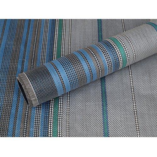 Vorzelt-Teppich grau 300×600 cm, waschbar, schimmelfrei…   04864444065980
