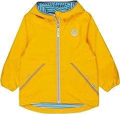 Finkid Puuskiainen yellow storm Kinder Zip In Wind & Regenjacke