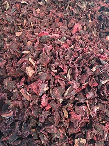Rote Bete, Rote Beete Würfel 1 kg Flocken Barf Hunde Gemüseflocken