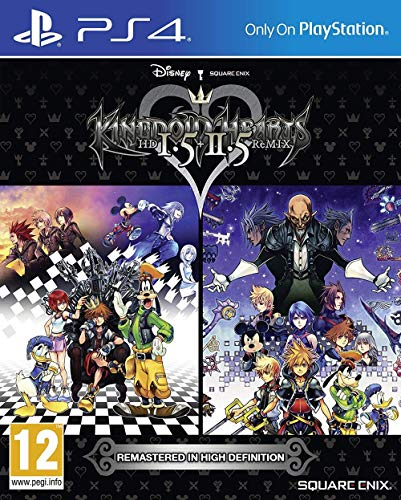 Square Enix Kingdom Hearts HD 1.5+ 2.5Remix PS4