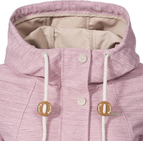 Ragwear Damen Übergangs Outdoorjacke Enrica (vegan hergestellt) Pink Gr. L - 5