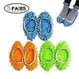 Lavabile polvere mop pulizia pantofole mop pantofole Dust Cleaner per pulizia scarpe copertura