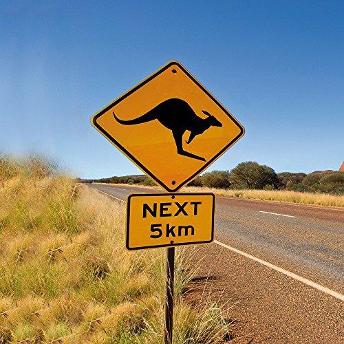 Apple iPhone 5s Housse étui coque protection Kangourou Australie Outback Étui en cuir marron