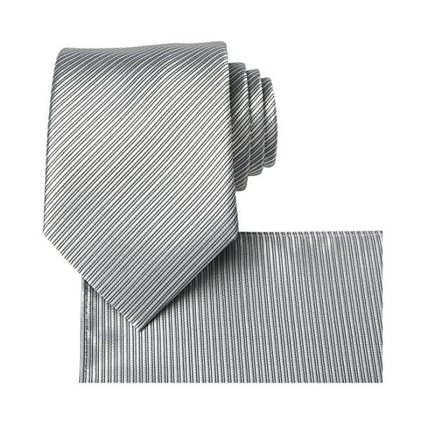 Kissties – Corbata para hombre de rayas, color fucsia