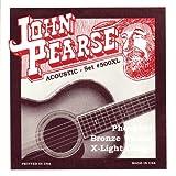 John Pearse 500XL Jeu de cordes pour Guitare Phosphore Bronze XL