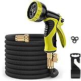 Expandable 50 Feet Garden Hose Pipe - ERAY Flexible Water Hoses Hosepipe for Gardening Car Washing Pet Bathing, 9 Function Sp