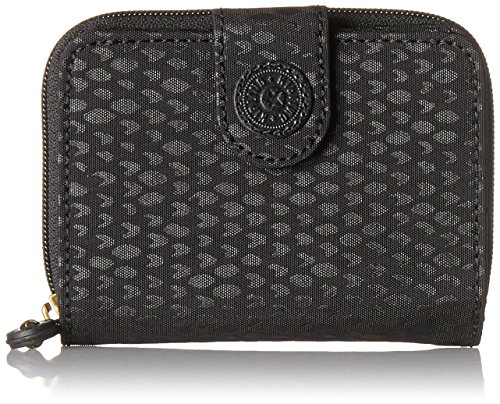 Scarlet Damen Schuhe (Kipling Damen NEW MONEY Geldbörse, Schwarz (Black Scarlet EMB), 9.5x12.5x3 cm)